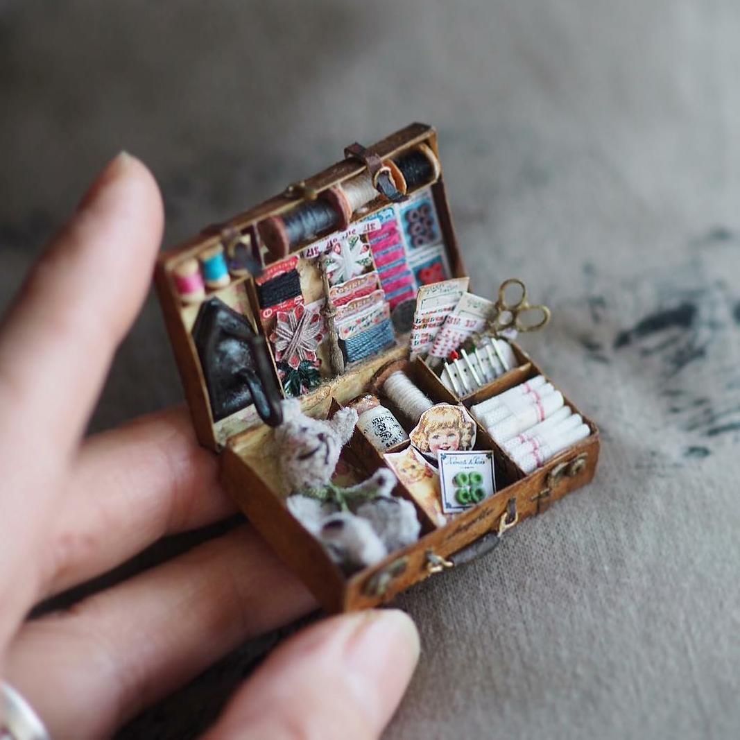 Мир винтажной миниатюры японской художницы Kiyomi