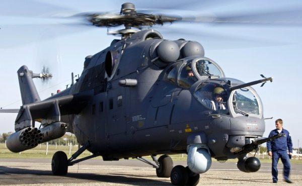 Видео: Ударный вертолет Ми-35М за 60 секунд