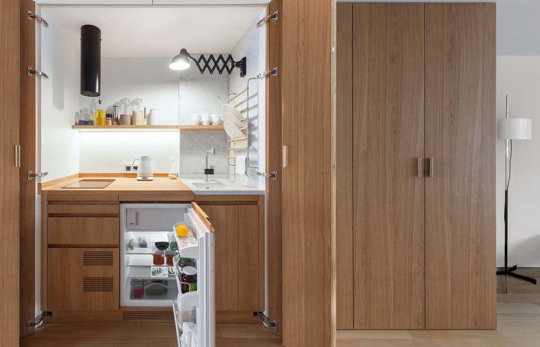 Очень маленькая кухня: как все уместить? 6 идей дизайнеров