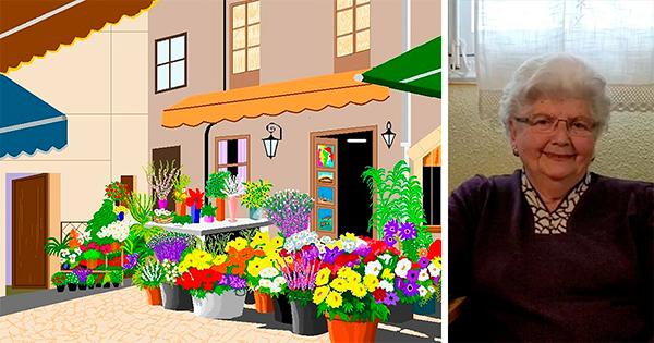 Аккаунт дня: 87-летняя бабушка стала профессионалом в Paint