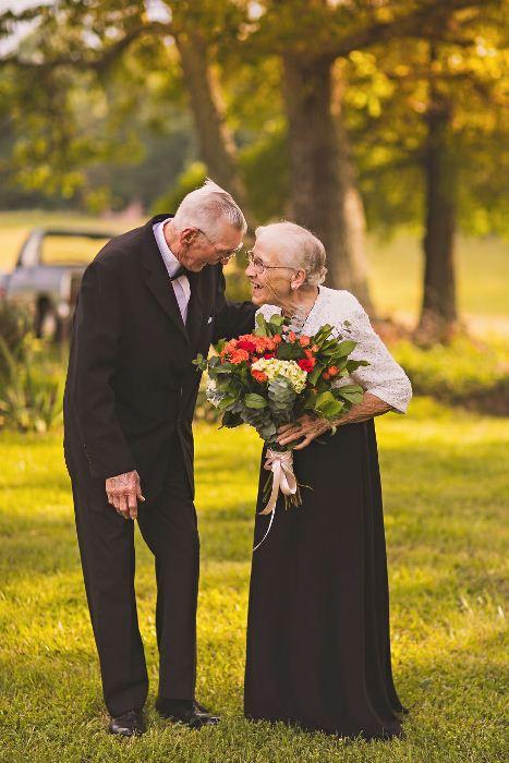 Руби и Гарольд счастливы вместе.