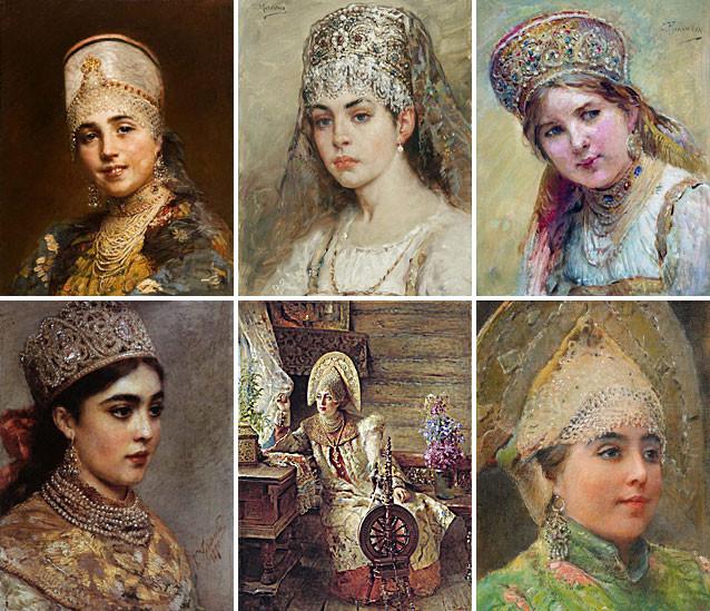 Как на Руси можно было узнать что девушка не замужем