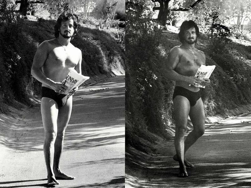 Редкие фотографии голливудских актеров