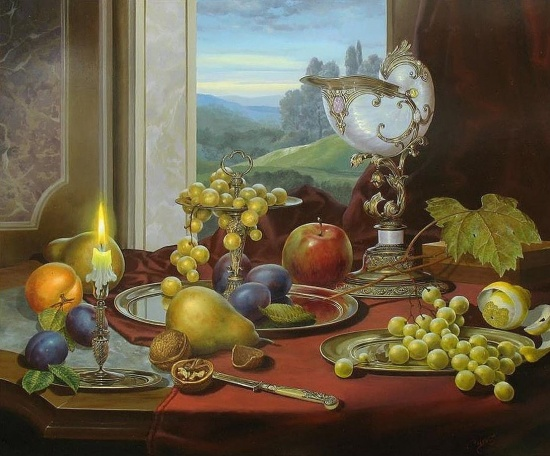 художник Gyula Boros (Дьюла Борос) картины – 21