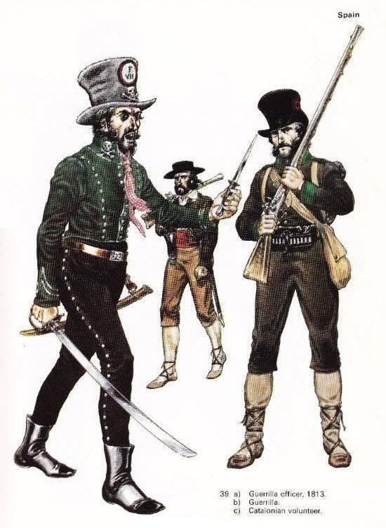 Русские партизаны 1812 года. «Летучие отряды» регулярных войск история