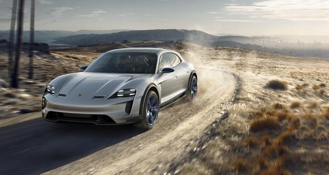 Porsche создал конкурента для Tesla Model X
