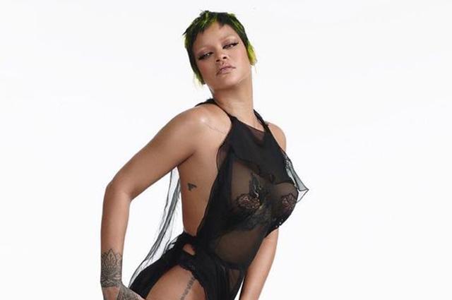 Рианна в полупрозрачном платье снялась для итальянского Vogue. Образ она придумала сама Новости моды