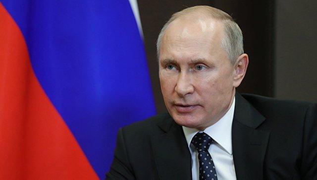 Владимир Путин прибыл в Минск на юбилейный саммит ОДКБ