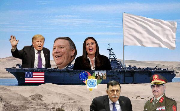 """""""Крысы бегут с корабля"""". Почему США эвакуируют своих военных и дипломатов из Ливии? новости,события"""