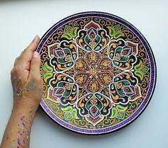 Шедевральные идeи росписи тapелок вдохновляемся,керамика,роспись