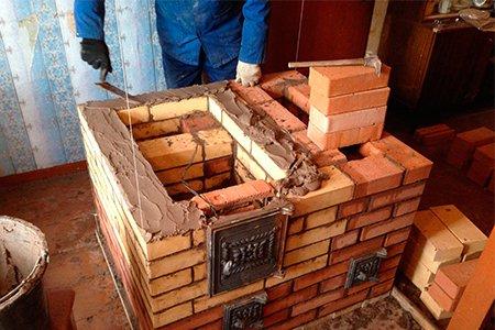 Печка для дров своими руками