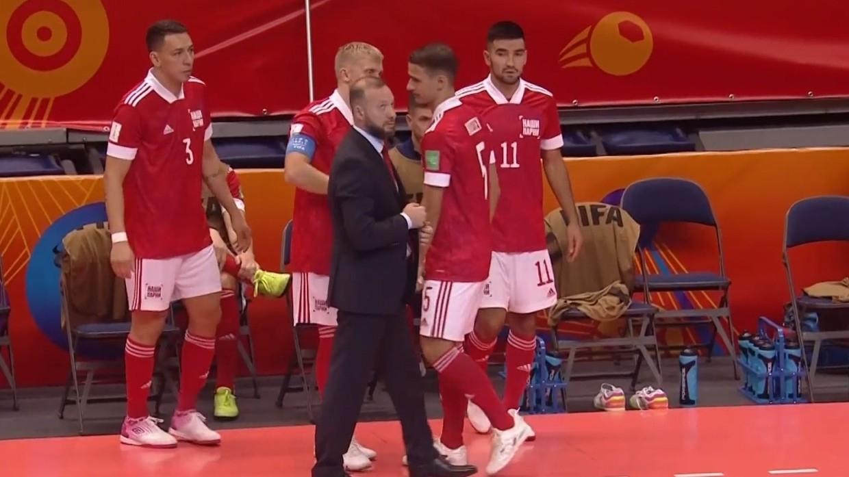 Сборная России по мини-футболу разгромила Египет на ЧМ в Литве Спорт