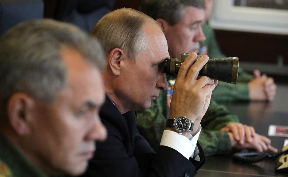 Совместные российско-белорусские стратегические учения «Запад-2017»
