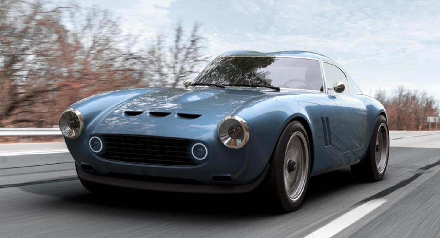 GTO Engineering Squalo — спорткар в стиле 1960-х Автомобили