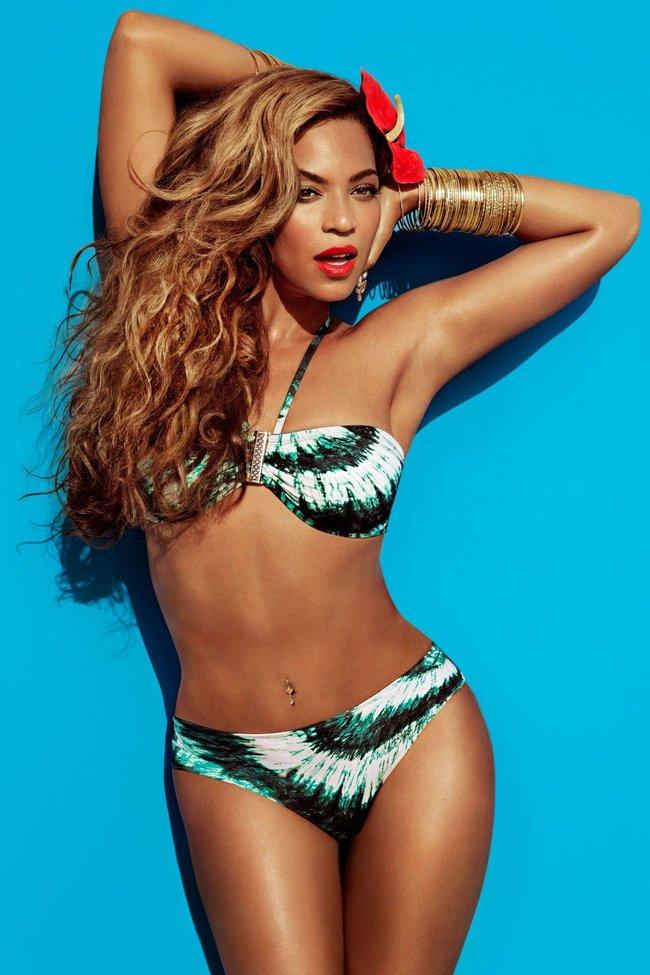 Бейонсе в летней рекламной кампании «H&M»