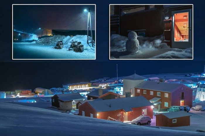 Норвежский поселок, где запр…