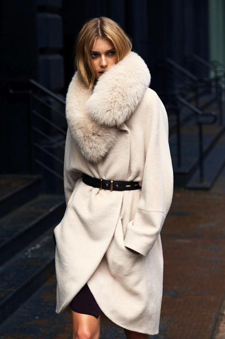 Картинка пальто меховое