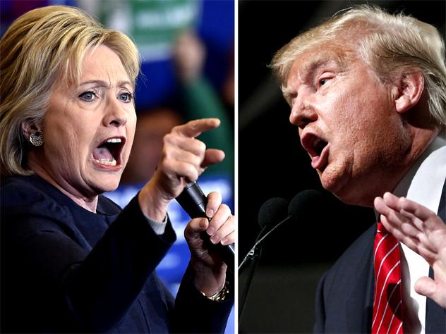 Трамп и Клинтон могут «пролететь» мимо кресла президента!