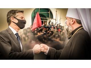 «Благословение» покровителей на дальнейшие захваты храмов получено? украина
