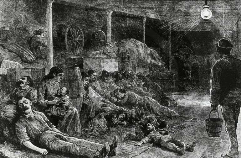 Как глупость,  жадность и расизм привели к  массовой эпидемии чумы в США. 1900 год