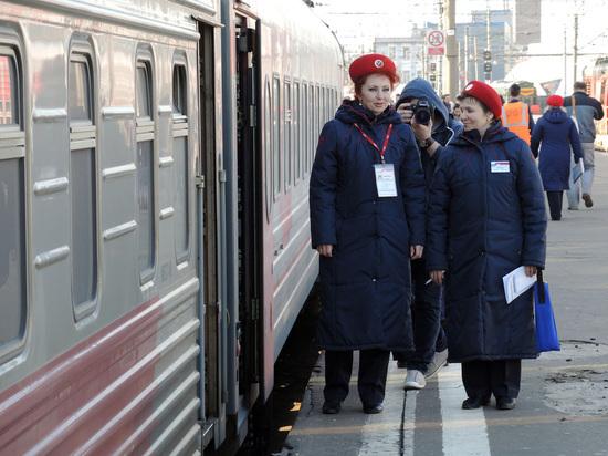 Журналистку шведской газеты удивили российские поезда зимой
