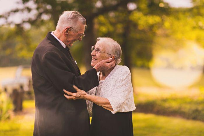 Фотосессия Руби и Гарольда в честь годовщины свадьбы.