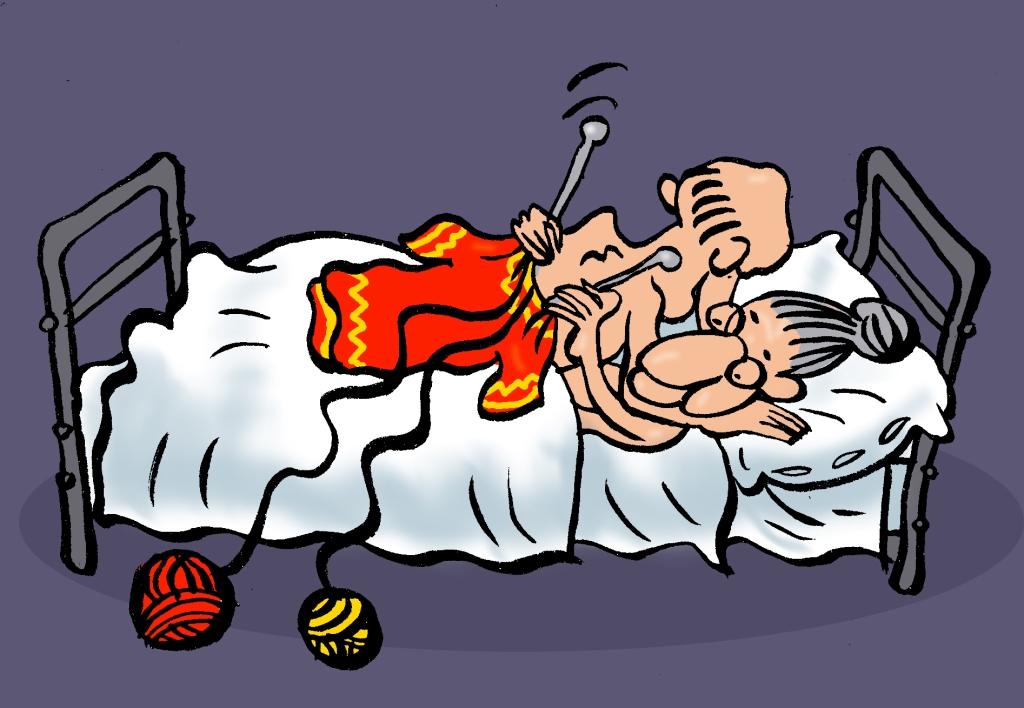 ЕЩЁ СКРИПИШЬ, ПОТЁРТОЕ СЕДЛО? - Ошибки пожилых людей в постели друг с другом