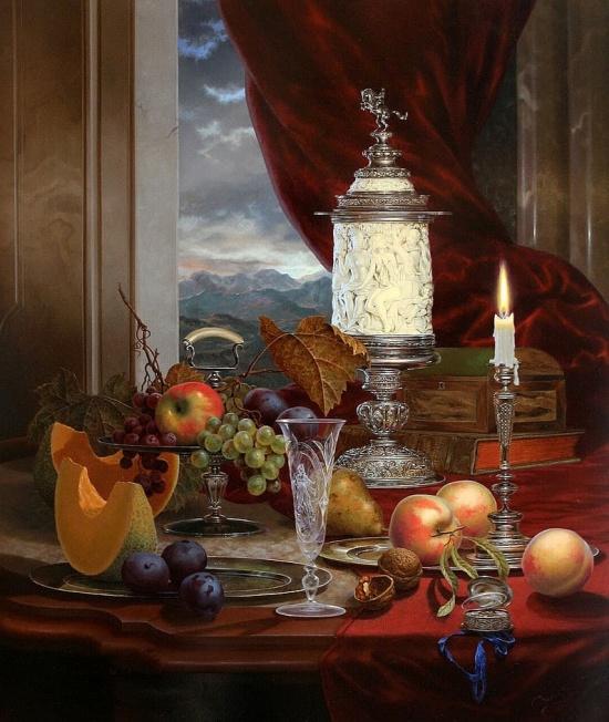 художник Gyula Boros (Дьюла Борос) картины – 09