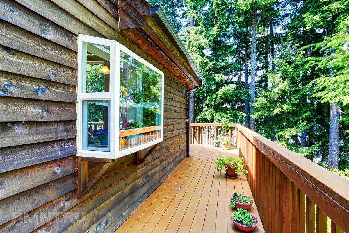«Садовые» окна: особенности и преимущества