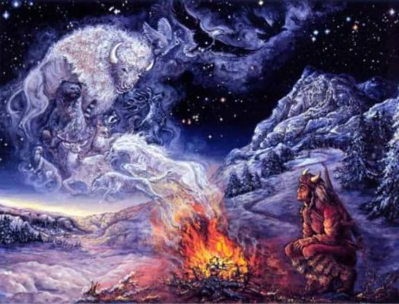 """10. """"Поиск видения"""" мир, ритуал, странность"""