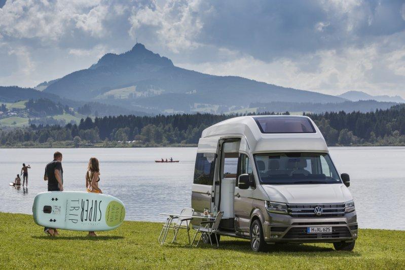 Volkswagen создал дом на колесах на базе фургона Crafter