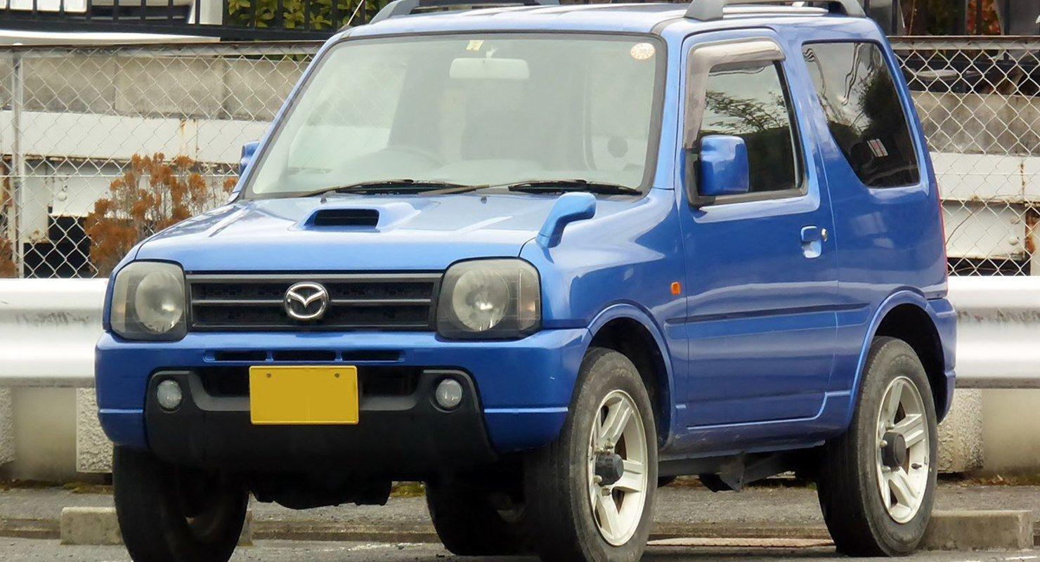 Миниатюрный внедорожник Mazda AZ-Off road: Когда малое значит так много Автомобили