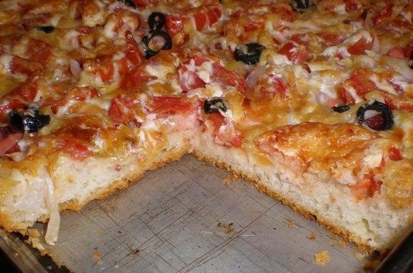 Есть пицца тонкая, а есть пицца вкусная!