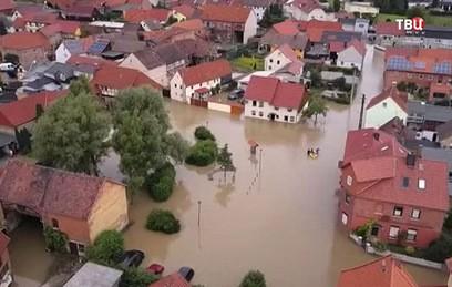 Города Турции и Германии накрыло проливными дождями