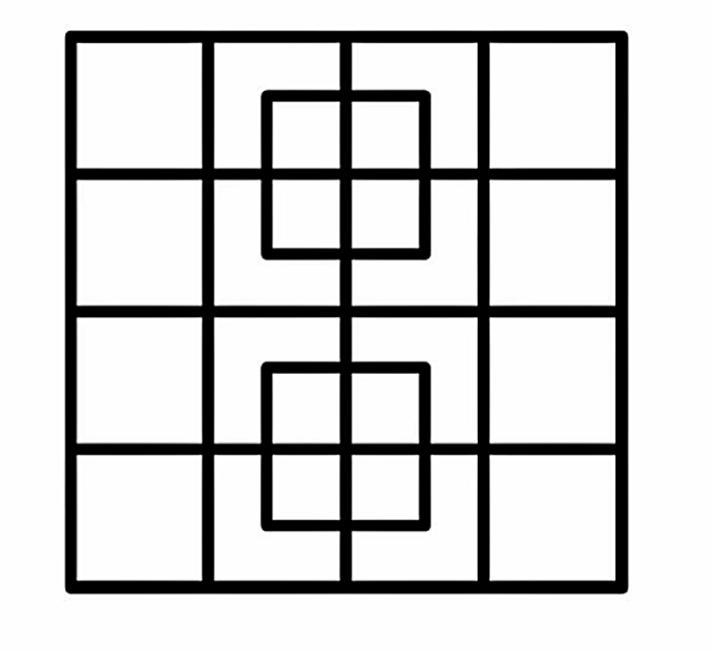 сколько квадратов вы видите на картинке с ответами