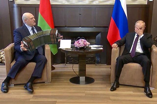 Встреча Владимира Путина и Александра Лукашенко в Сочи: лучшие мемы Медиа