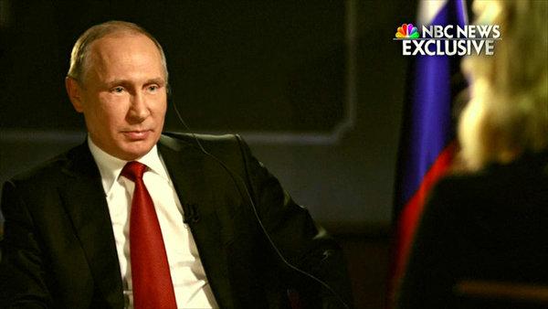 """«Обращайтесь в суд России!» - Путин красиво ошарашил журналистку NBC на обвинения о """"русском вмешательстве"""""""