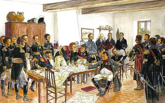 В Ставке Наполеона Наполеона, Наполеон, чтобы, офицеров, императора, Ставки, которые, квартир, всегда, повозки, солдат, лично, повозка, после, лошадей, постоянно, коней, Кроме, могли, офицеры