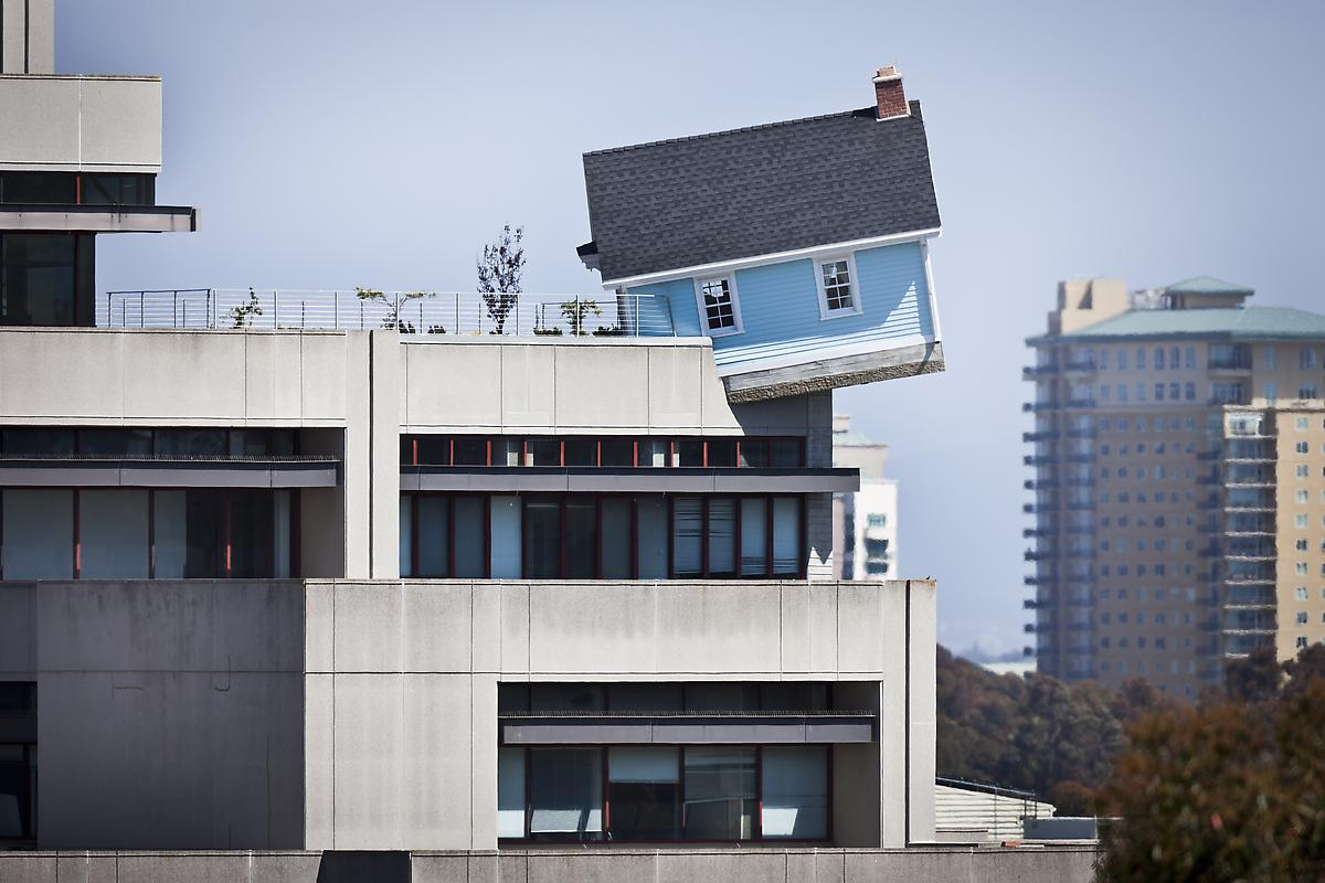 15 домов, построенных на многоэтажках