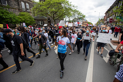В Канаде началась акция из-за смерти чернокожего вСША