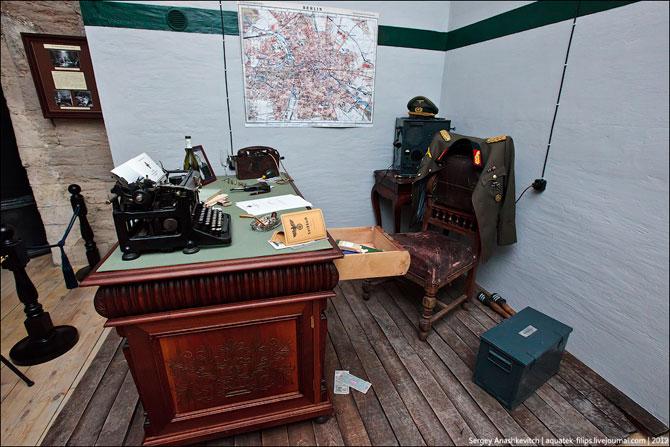 В бункере немецкого генерала