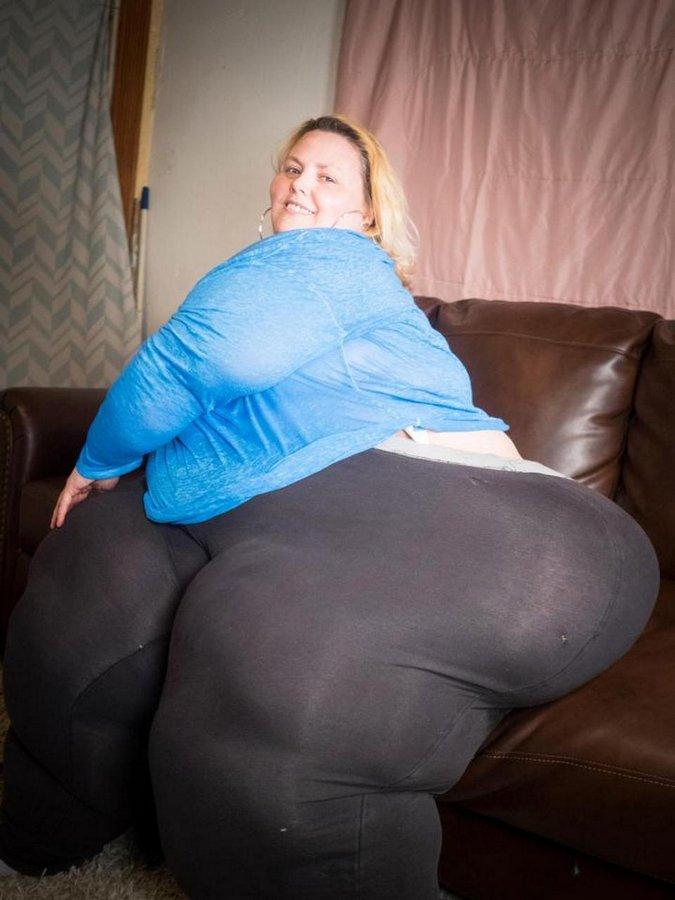 жирная огромная женщина - 10