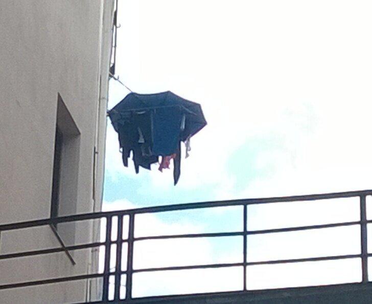 Когда в Галисии идет дождь и нет балкона, а белье где-то надо сушить страны, факты, это интересно