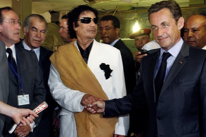 Сын Муаммара Каддафи готов дать показания против Саркози