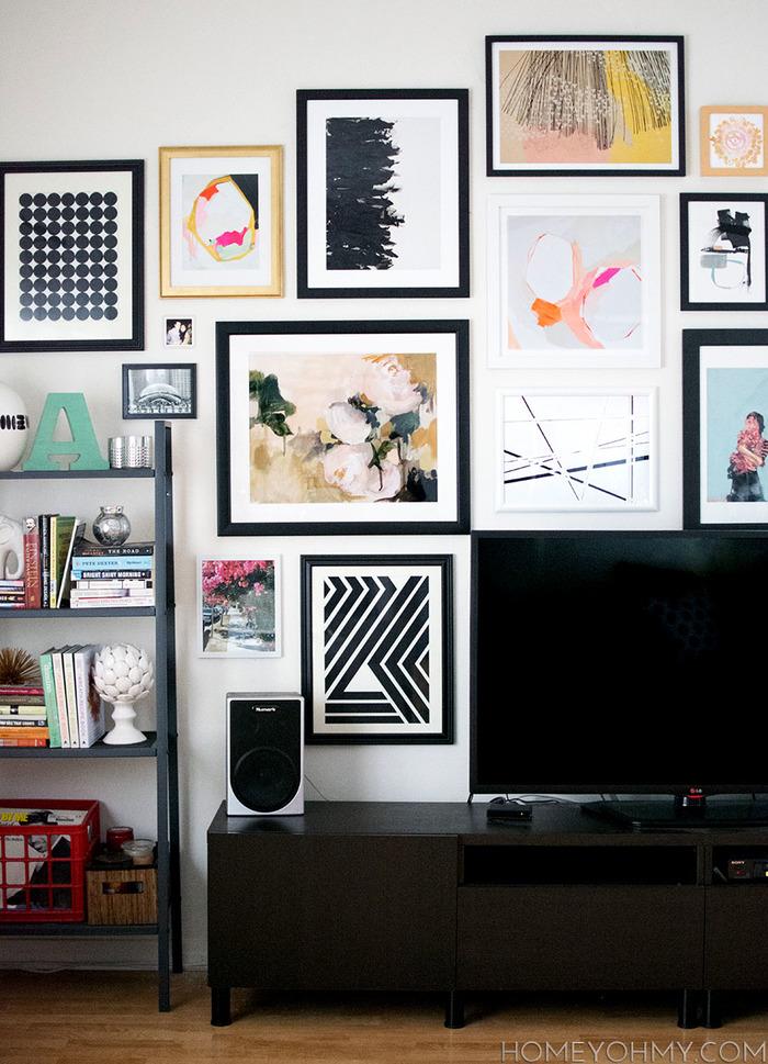 Как оформить место для телевизора: 20 идей