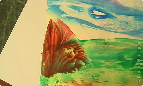 Картина, панно, рисунок, Мастер-класс Энкаустика: как я рисую утюгом Воск. Фото 9
