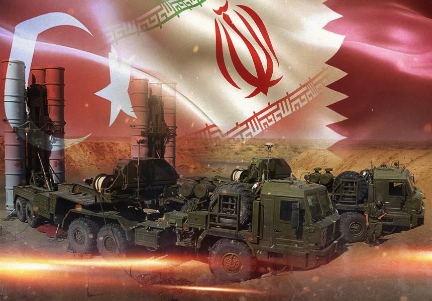 Ближний Восток уходит под контроль объединенной группировки ПВО России