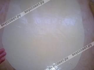 Самса с творогом из слоеного теста - рецепт пошаговый с фото