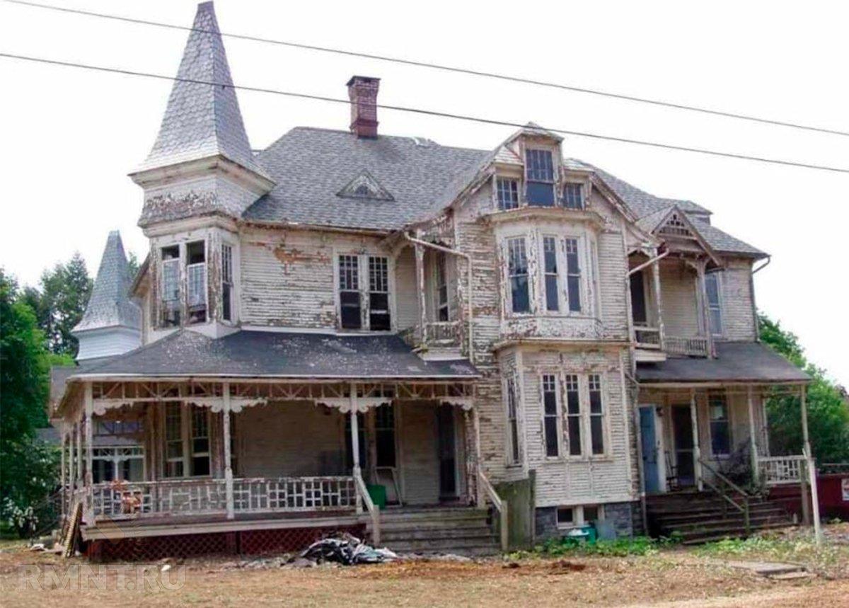 ремонт старых домов в картинках