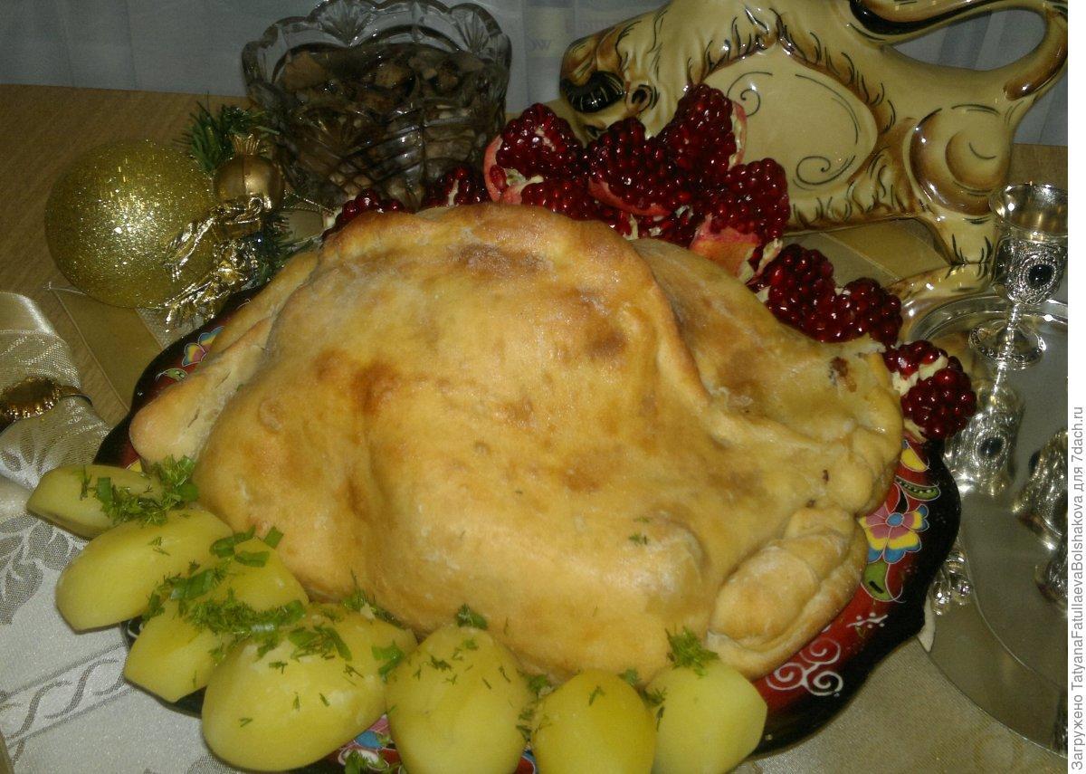 Сочная курица в тесте. Пошаговый рецепт с фото блюда из курицы,выпечка